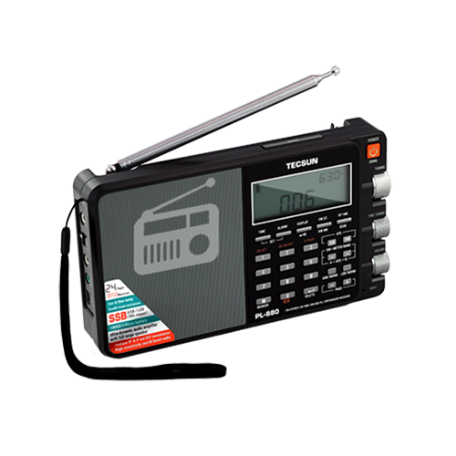 Tecsun PL880 Radio with Digital Signal Processing