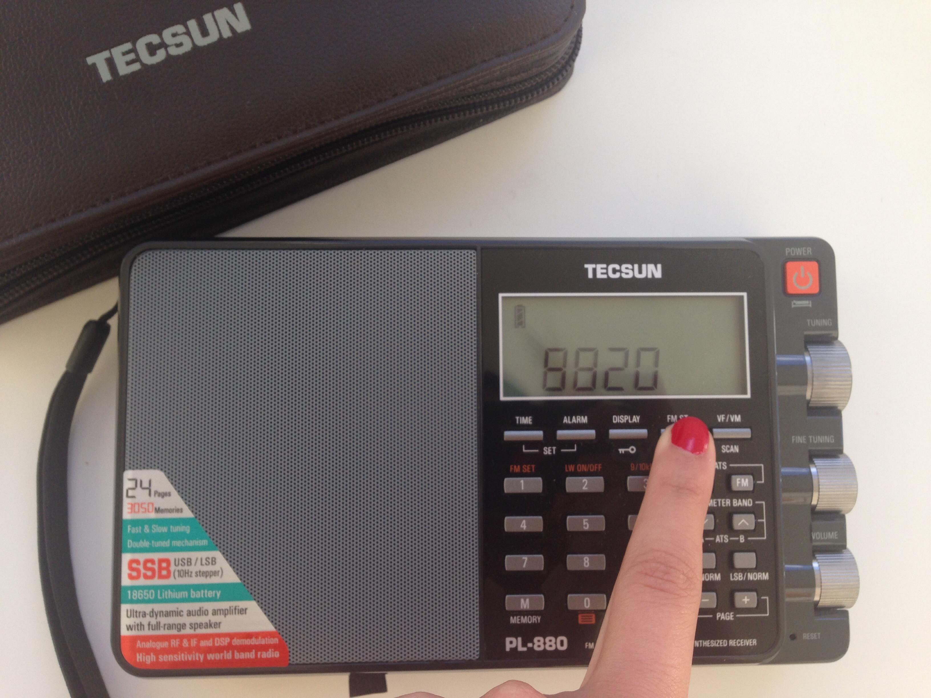 tecsun pl880 radio firmware 2