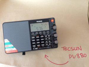 Tecsun PL880 Radio