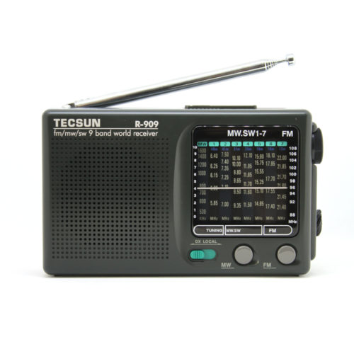 Tecsun R909 Radio Front View