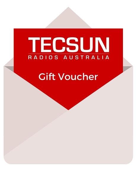 Tecsun Radios Gift Voucher