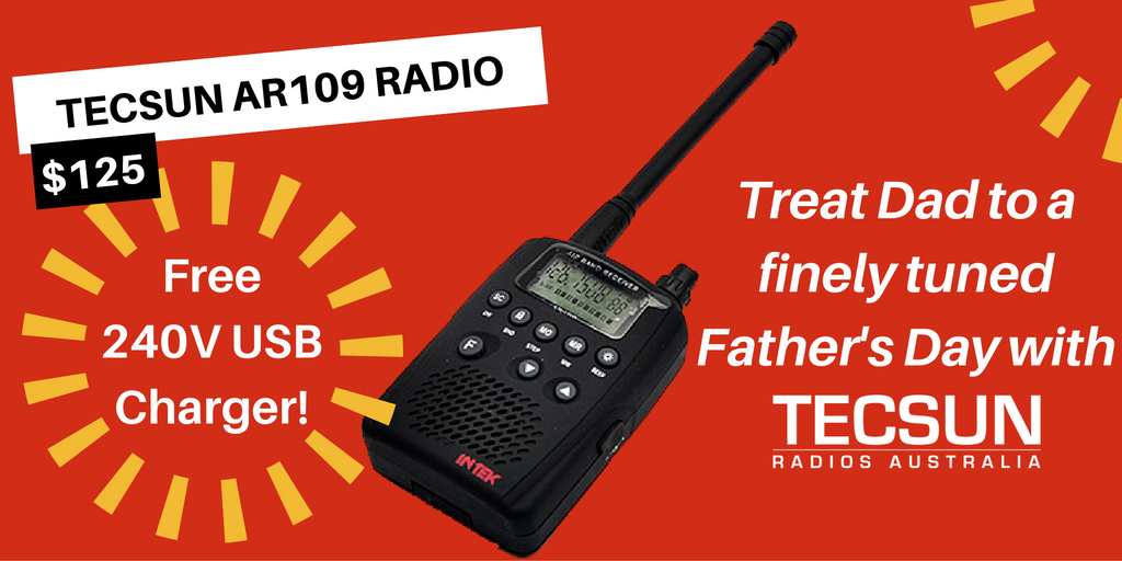 Tecsun AR109 Father's Day Offer