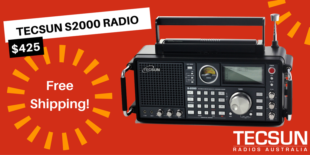 Tecsun S2000 Radio Father's Day offer