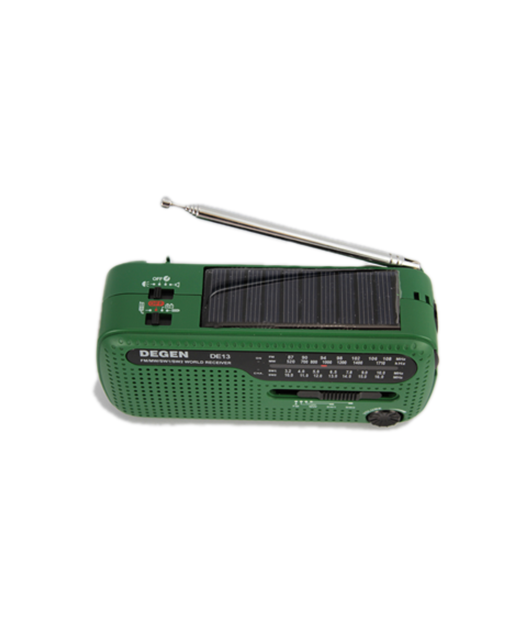 Tecsun DE13 Emergency AM FM SW Solar Radio
