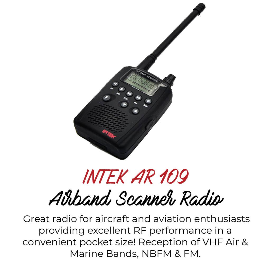 Moonraker AR-109 Airband Scanner Radio – TECSUN Radios