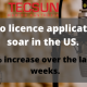 Radio licence applications soars.