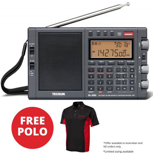 Free Tecsun Polo with PL990