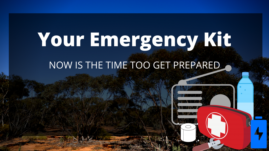 bushfire emergency kit