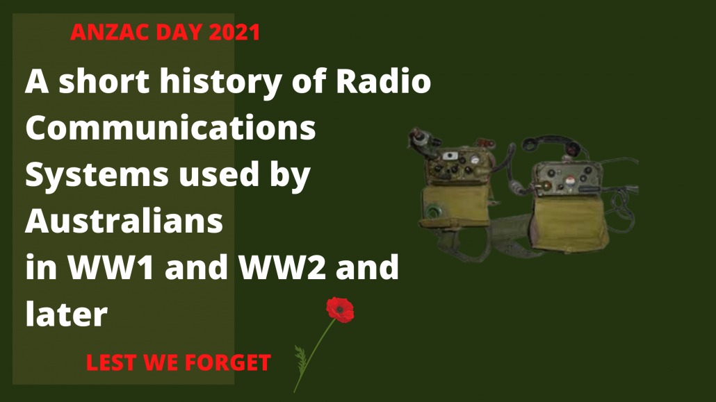 anzac day military radio history