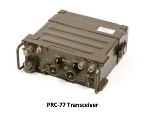 PRC-77 Transceiver